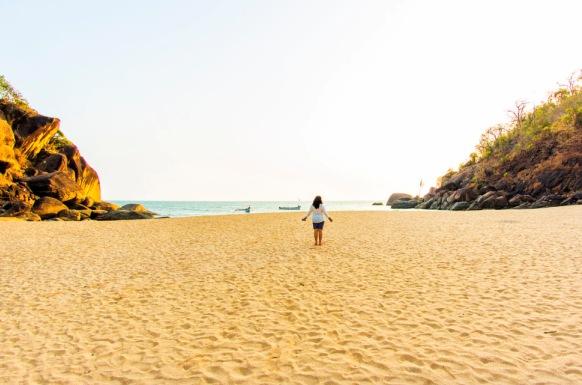 Rajbaga Beach – South Goa
